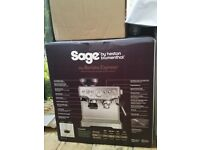 Sage Barista Express coffee machine with built in grinder RRP £539