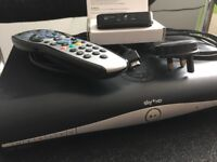 SKY HD + Box with Wifi On-Demand Connector - Cables, HDMI and Remote - Great Working Order