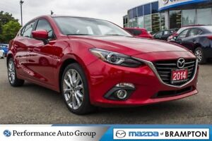 2014 Mazda MAZDA3 SPORT GT-SKY|LEATHER|SUNROOF|CAM|NAVI