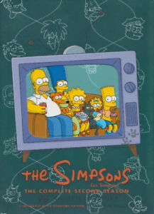 COMPLETE 2ND SEASON THE SIMPSONS DVD