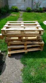£3 each wooden pallets with local delivery