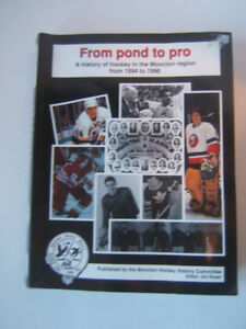 Moncton Hockey History Book