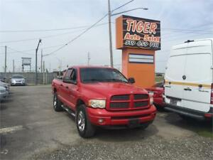 "2004 Dodge Ram 1500***4X4***AUTO***5.7 HEMI***20"" CHROME WHEELS"