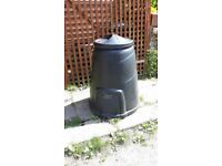 BLACKWALL 330 LITRE BLACK COMPOST CONVERTER. used but in good condition. we no longer have room for