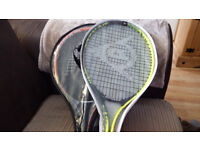 Pair of Tennis Rackets Head & Dunlop