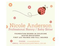 Are you looking for a nanny ??