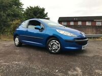 Peugeot 207s 1.4 Petrol Full Years Mot Low Mileage Drives Great Cheap To Run And Insure New Clutch !