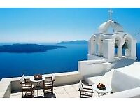 2 x Flights London Gatwick - Santorini 23rd-30th September