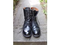 Black Size 11 Army Boots