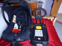 Baby Elegance Bubble Car Seat and Isofix base (As New)