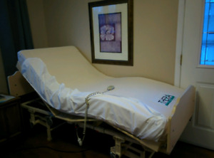 Medical extra long twin bed