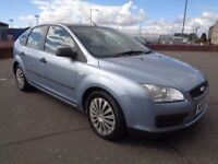 FORD FOCUS DIESEL , 2005/55 REG , LONG MOT , DRIVES GREAT , TRADE IN TO CLEAR