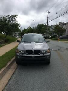 BMW X5 SUV, will consider best reasonable offer today,MVI,10/10