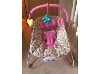 Mothercare vibrating bouncy baby chair
