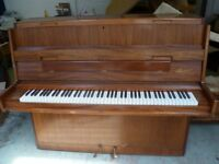 Upright Piano Danemann (Free Local Delivery ) Paddock Wood Kent