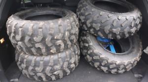 Lower price Like new ATV tires