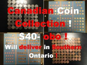 Canadian Coin Collection !  Will deliver in Southern Ontario !