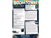 1 x Boomtown Ticket with camping