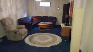 FULLY FURNISHED BASEMENT SUITE WEST END
