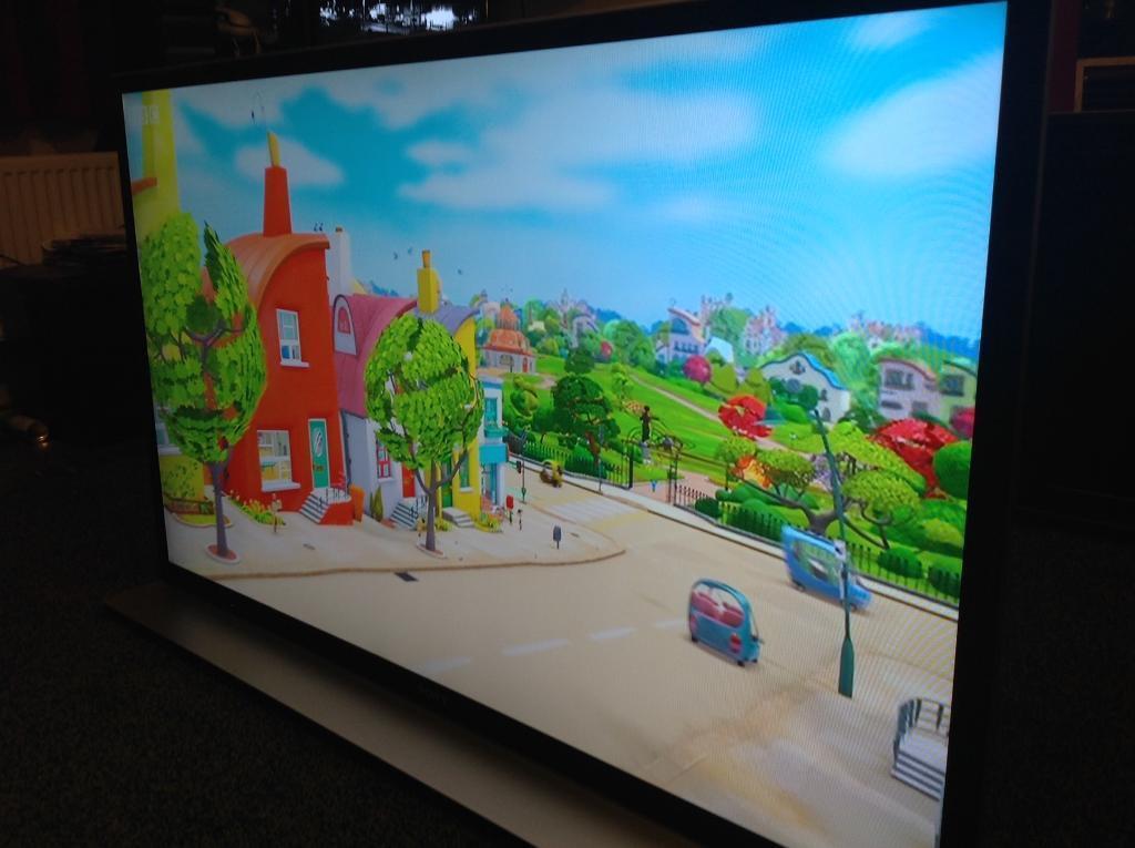 Sony Bravia 3D smart TV 55inch slim
