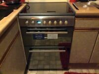As new Indesit Electric Cooker