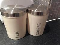 Tea and coffee containers
