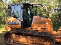 Case 650 LGP Dozer for Rent or Hire