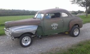 1947 Monarch hot rat rod