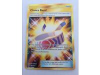 CHOICE BAND POKEMON TRADING CARD SECRET RARE