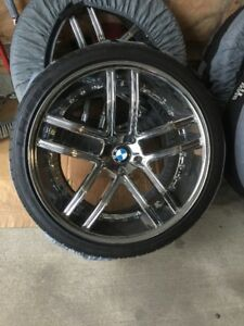 give a look for ur bmw x5 and x6 and more suv. 22x10.5