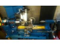 Lathe and milling machine