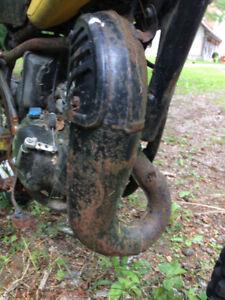 Suzuki RM80 exhaust muffler pipe