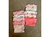 Girls Tiny Baby Vests