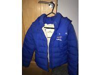 Women's Hollister puffer winter jacket