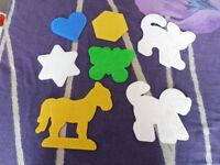 7 hama bead boards