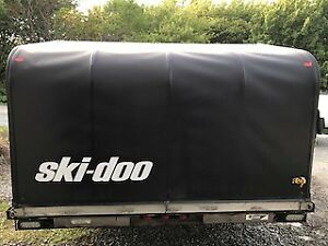 REDUCED! 2000 Blackhawk Ski-Doo trailer
