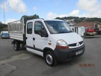 2007 Renault Master 2.5TD 100 ( LWB ) DCLL35dCi (LWB) Caged Tipper