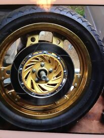 Honda VF750F wheels x four (Marks tey)