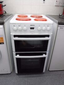 Free Standing Cooker - Double oven, bottom oven is fan assisted
