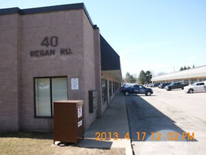 Commecial / Industrial unit 2000 sf for lease at 40 Reagan Rd