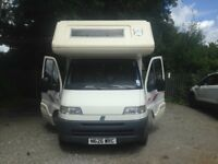 Fiat Ducato [LHD] 5 Berth Motorhome. Excellent Condition throughout.