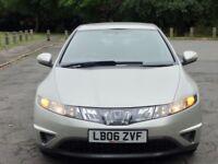 Honda Civic Automatic, 2 YEARS WARRANTY, 1.4 not Volkswagen nissan citroen seat renault bmw toyota