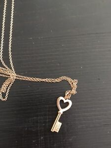 Authentic Tiffany necklace from NYC store