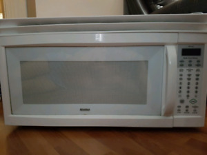 Kenmore Over-the-Range Microwave w/fan combo
