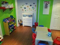 St.Thomas Daycare has spot available