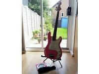 Wesley bass guitar