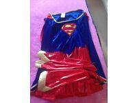 Ladies super girl costume