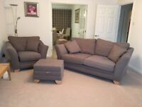 EX Showhouse - 2 Seater , Seat and footstool, As new condition