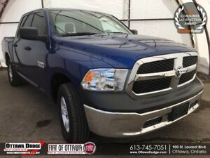 2016 RAM 1500 ST SXT APPEARANCE GRP, ALUM WHEELS, LED BED LIG...