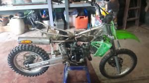broken/unwated dirt bikes